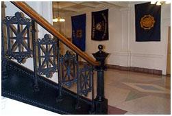 Inside Bataan Memorial Building