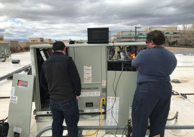 Men working on electrical