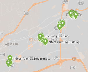 Green Energy Project Map