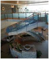 inside of Toney Anaya Building